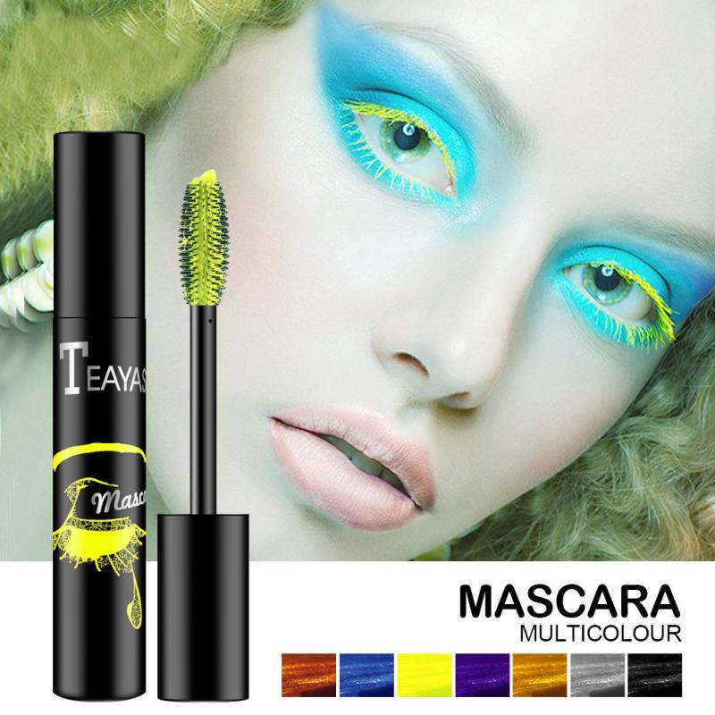 Profissional 4d charme rímel volume à prova dwaterproof água lash extensões maquiagem natural macio longo cílios maquiagem rímel preto thicktslm1