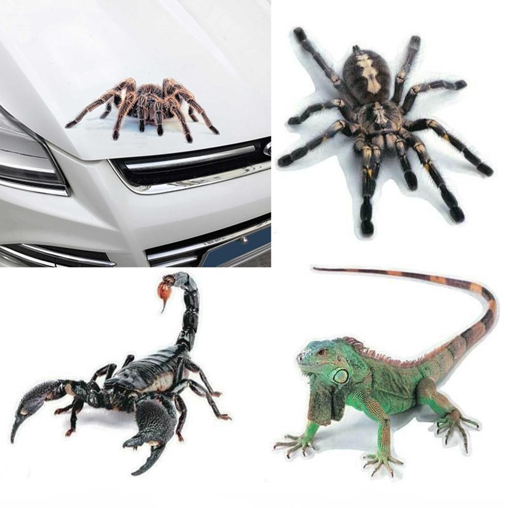 3d aranha lagarto escorpião adesivo de carro padrão animal para hyundai hnd3 veloster i10 lpi 30 azul r cee d ix tucson ix35