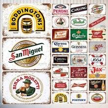 Corona Extra bière Plaque métal étain signe Miller mur Art affiche Bar Pub café Club décoration Vintage décor à la maison