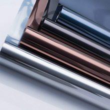 LUCKYYJ Window Tint for Home One Way Glass Window Film Privacy Anti-UV Heat Control Reflective Self-adhesive Window Stickers