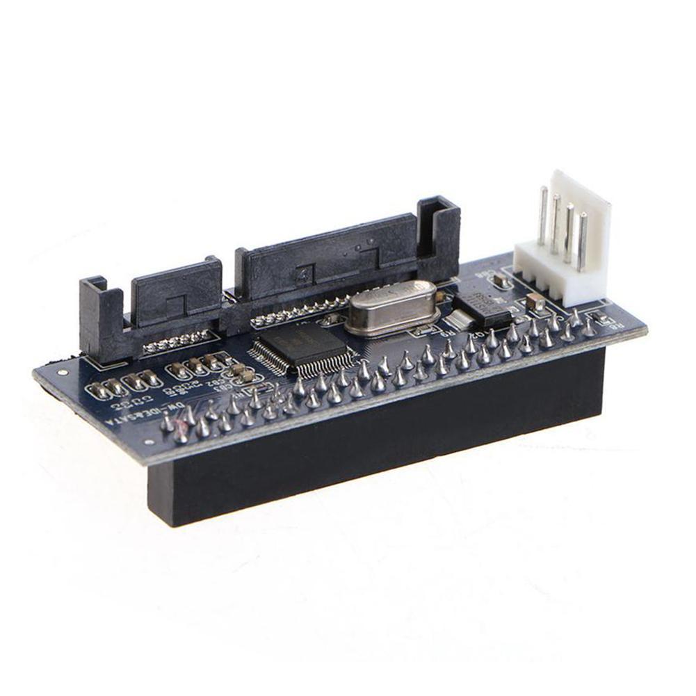 SATA IDE adaptador 40 Pin IDE a SATA conector 3,5 disco HDD nuevo A3T7 IDE/PATA convertidor Serial Par adaptador duro P1H5