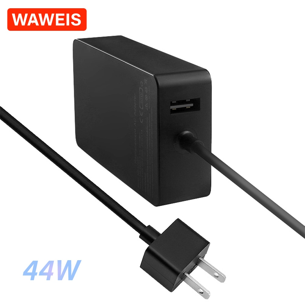 WAWEIS 15V 2,58 A 44W EU & Us-stecker AC Netzteil Ladegerät Adapter für Microsoft Oberfläche Laptop oberfläche Pro 6 Pro 5 (2017) Pro 4