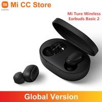 Беспроводные наушники Xiaomi Mi True, базовые TWS наушники 2 с поддержкой Bluetooth глобальная версия, стереогарнитура с басами и управлением ии