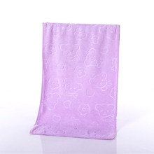 Microfiber Towels Embossed Thick Soft Absorbent Ultrafine Fiber Towel Beach Bath Towel GHS99