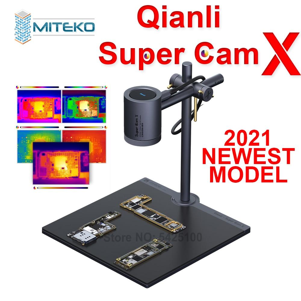 Qianli Toolplus Super Cam X 3D Thermal imager Camera Mobile Phone PCB Troubleshoot Motherboard Repair Fault Diagnosis Instrument
