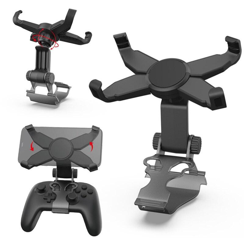 Suporte para controle sem fio switch pro, acessório ajustável para celular, games