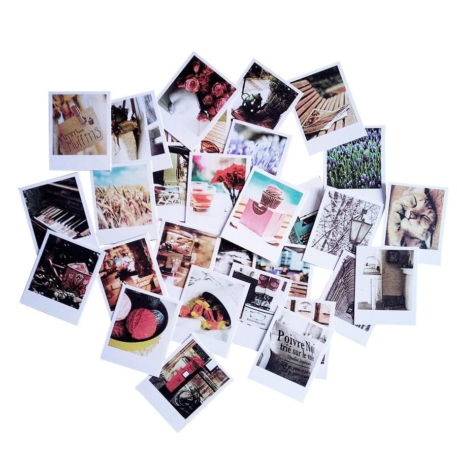 60 конвертов + 60 листы карточки + 60 наклеек/партия, винтажная серия фото, открытки, украшения, поздравительные открытки на Рождество