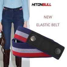 Buckle-Free Ladies Belt High Elasticity And Convenient Stretchable Casual Pants Jeans Belts For Men
