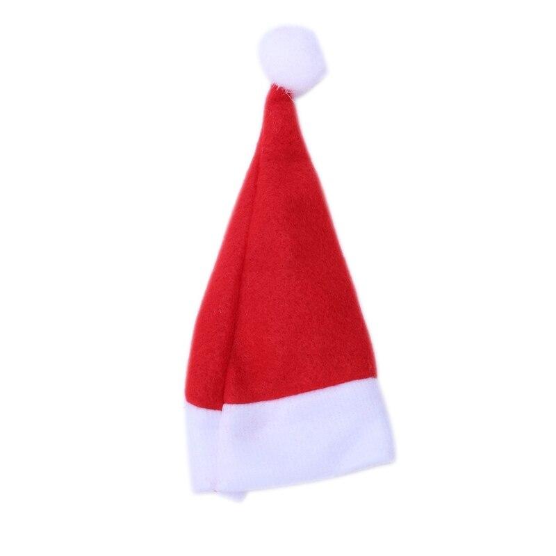 24 x Christmas hats for 6cm Santa Claus coat doll hat Christmas hat Advent calendar