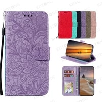 fashion cute embossed leather case for samsung galaxy m51 flip shell cover for samsung galaxy m51 lnternational edition coque