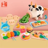 toys for girls childrens kitchen diy childrens cow noodle machine kitchen play set puzzle baby toys kids educational toys