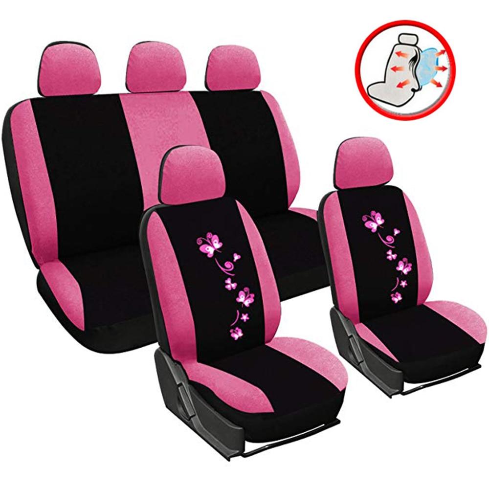 Cubierta de poliéster para asiento de coche Set Interior Accesorios conjunto completo...