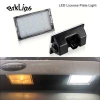 2pcs no error led license plate lights for land rover discover lr3 lr4 range freelander lr2 rover sport l320 number plate lamps