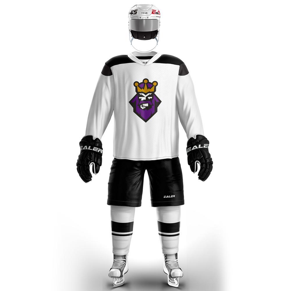 Han canard livraison gratuite de haute qualité Hockey sur glace formation maillots Sport Vintage pas cher H6100
