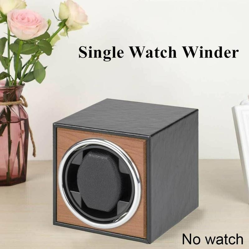 Watch Winder For Automatic Watches New Version 4+6 Wooden Watch Accessories Box Storage Collector Hi