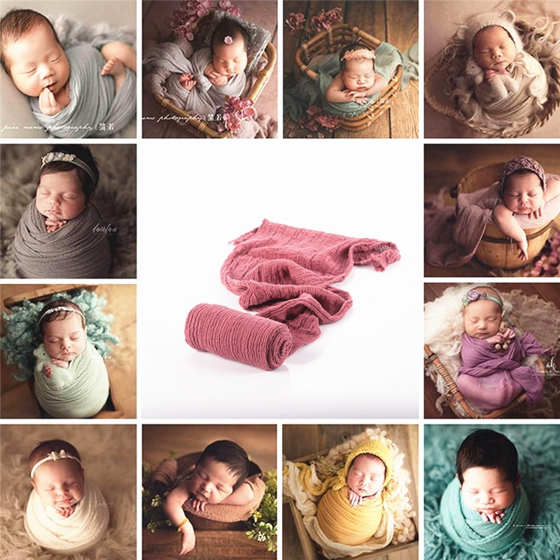 40x180cm Newborn Photography Props Baby Stretch Wraps Blanket Background Props Newborns Photo Shoot Fotografia Accessories newborn photography props mohair knit wraps backdrops set stretchy blanket for baby photo shoot accessories fotografia acessorio