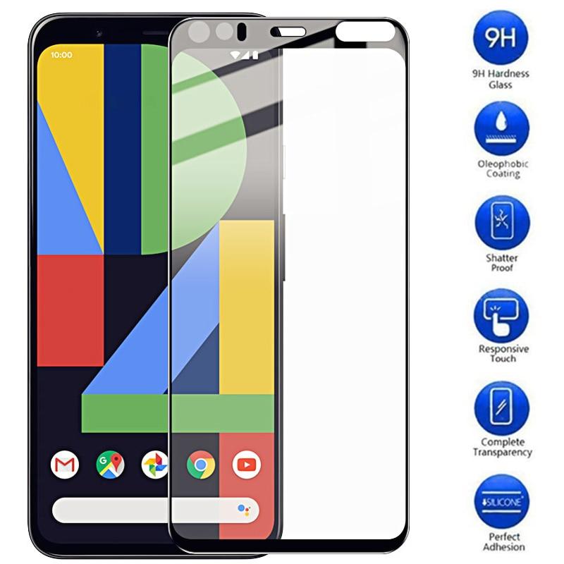 Para google pixel 4 xl cobertura completa de vidro temperado para pixel 4a a4 xl4 pixel4 4xl anti-explosão 2.5d protetor de tela filme de vidro