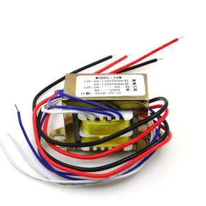 Hi-End 10W (10VA )EI Transformer For Tube Preamlifier 0-6V @1A  0-200V @20mA