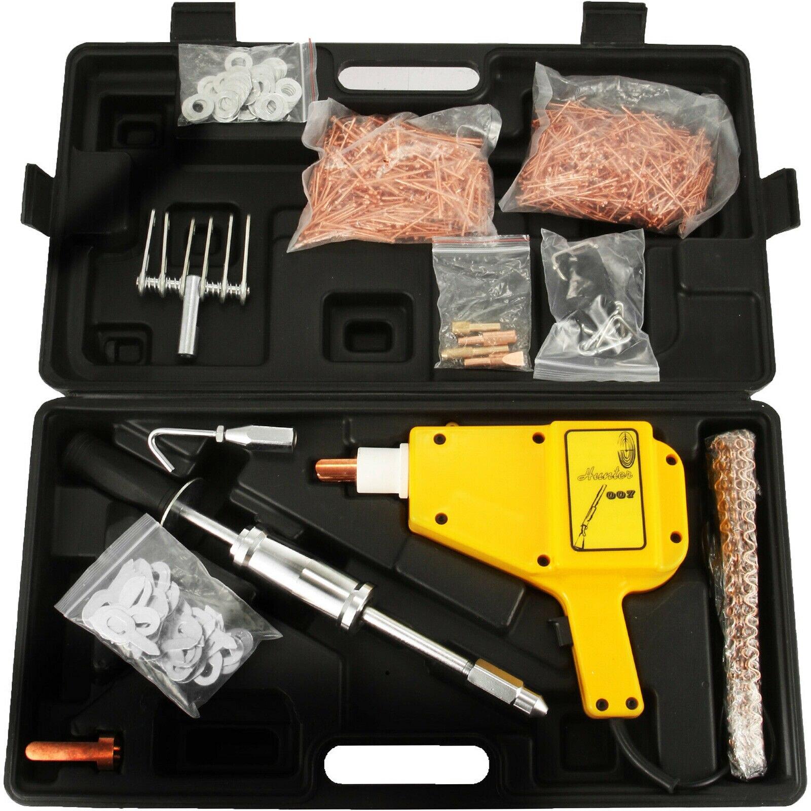 VEVOR 1600A Car Body Dent Repair Tools Spot Stud Welder Dent Puller Gun Welding Kit with More Access