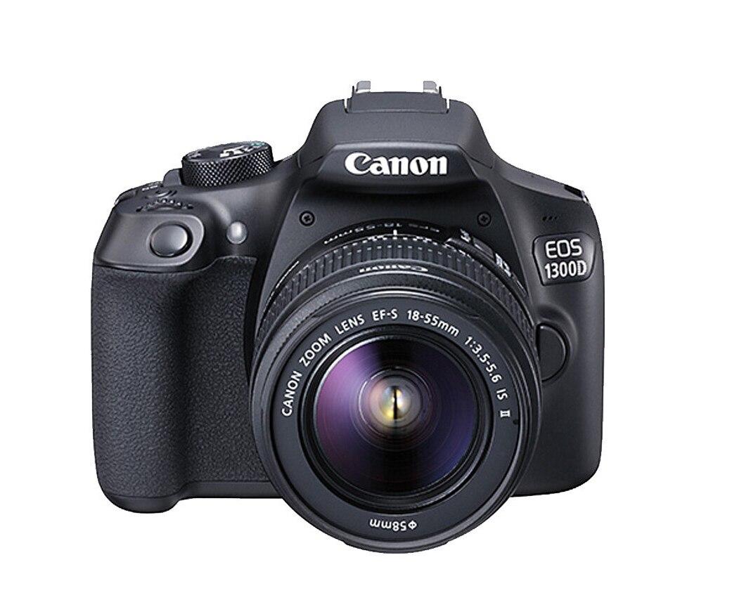 كاميرا Canon EOS 1300D DSLR مستعملة مع EF-S 18-55 مللي متر F/3.5-5.6 IS II Lens