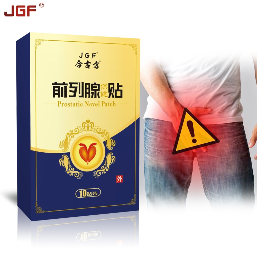 JGF Urological Patches 10PCS Prostatic Navel Plaster Male Prostatitis Prostate Treatment 100% Natural Herbs Health Care