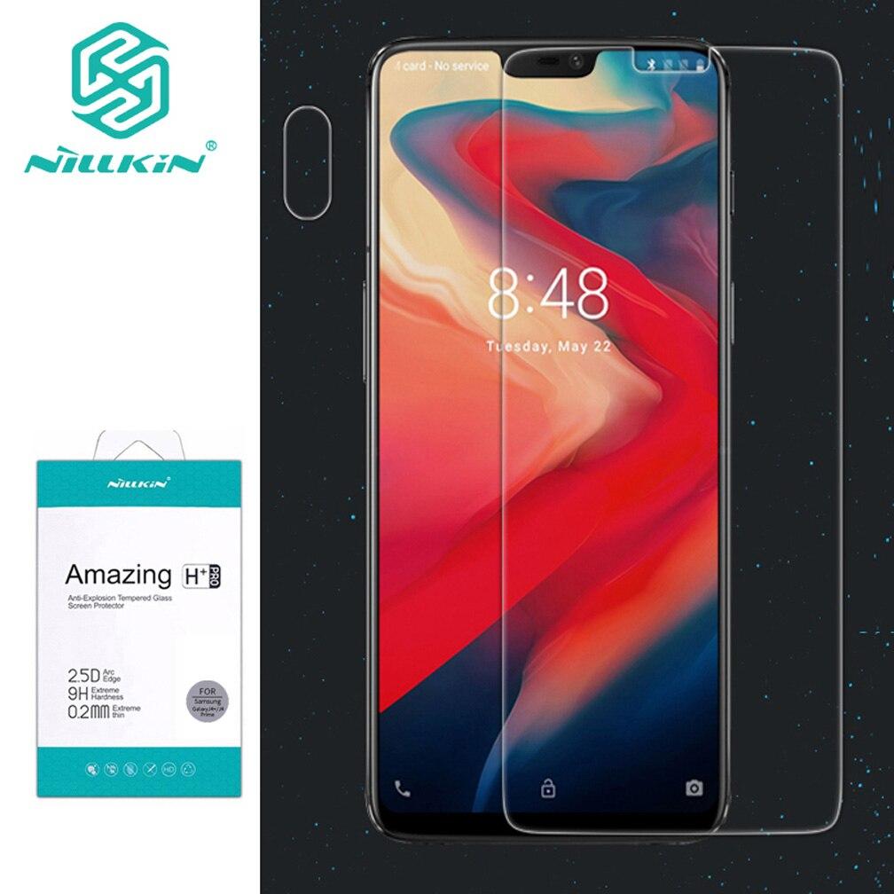 2.5D для Oneplus 6 защита экрана Nillkin Amazing H & H + PRO закаленное стекло для One plus 6 защитная пленка для экрана телефона