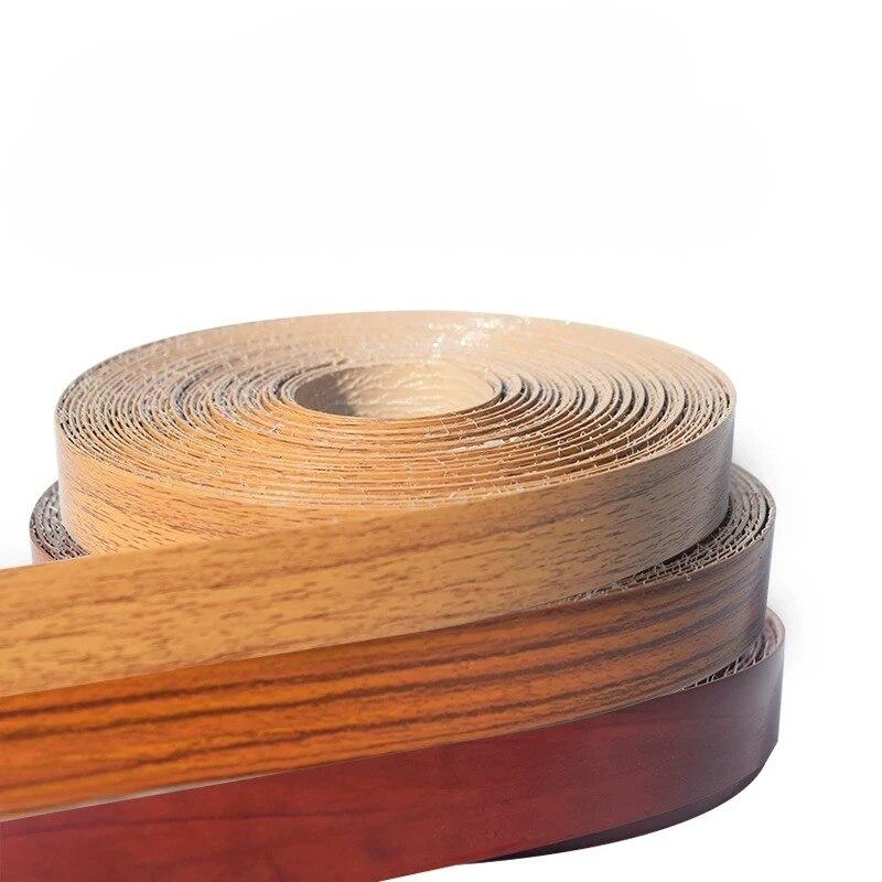 10 м самоклеящаяся мебель деревянный шпон декоративная кромка ПВХ облицовка для