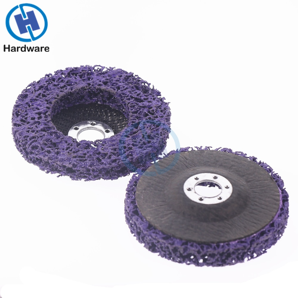 2 uds 125mm disco de tira de polietileno rueda abrasiva pintura - Herramientas abrasivas - foto 3