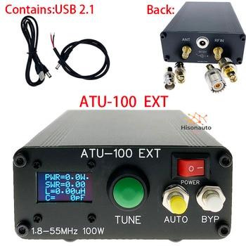 ATU-100 ATU100 1.8-50MHz BRICOLAGE Kits Antenne Automatique Tuner par N7DDC 7x7 Firmware Programmé/SMT/Puce Soudé/+ OLED