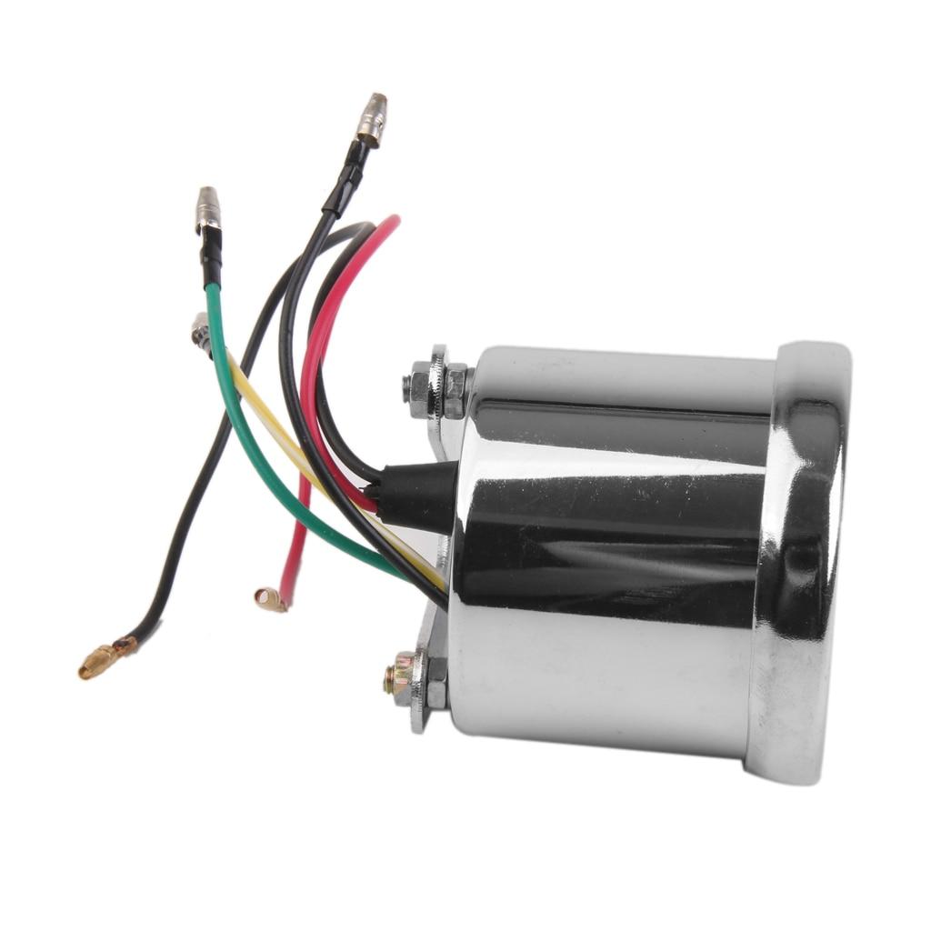 12V 13000RPM Motorrad Tachometer Tachometer Speedo Gauge Für ATV