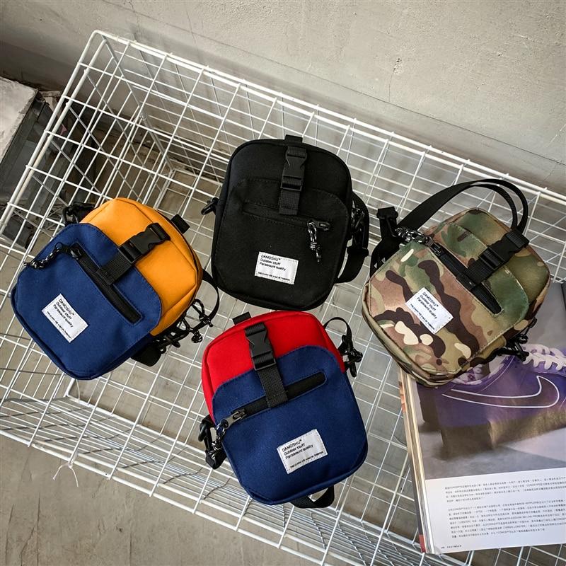 Cartera de diseño de marca original, bolso de mensajero de marca a la moda para hombre, bolso de hombro para teléfono de discoteca para mujer