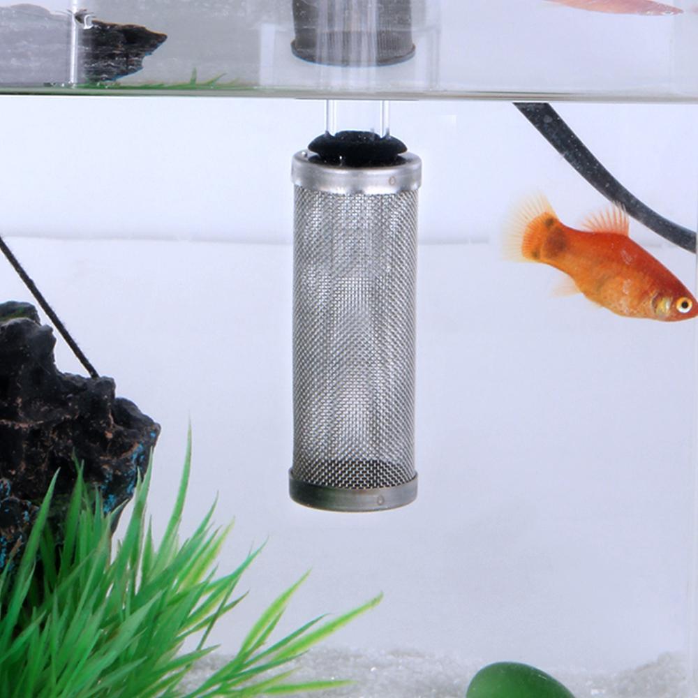 Filtro protector de filtro Senzeal de 12mm/16mm Filtro de acero inoxidable filtro de malla Filtro de acuario Filtro de admisión