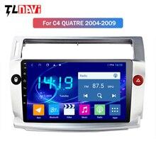 4G+64G 2.5D+IPS Android 9.0 Car dvd Radio Multimedia GPS Navigation For Citroen C4 C-Triomphe C-Quatre 2004-2009 Stereo