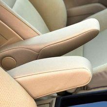 Pour Honda CRV 2010-2011 microfibre cuir conducteur/passager côté siège accoudoir poignée décor couverture Protection garniture