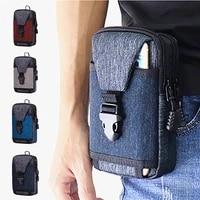 waist pack mens casual bag travel purse waterproof belt zipper tactical outdoor sport fanny multifunction pack phone pocket