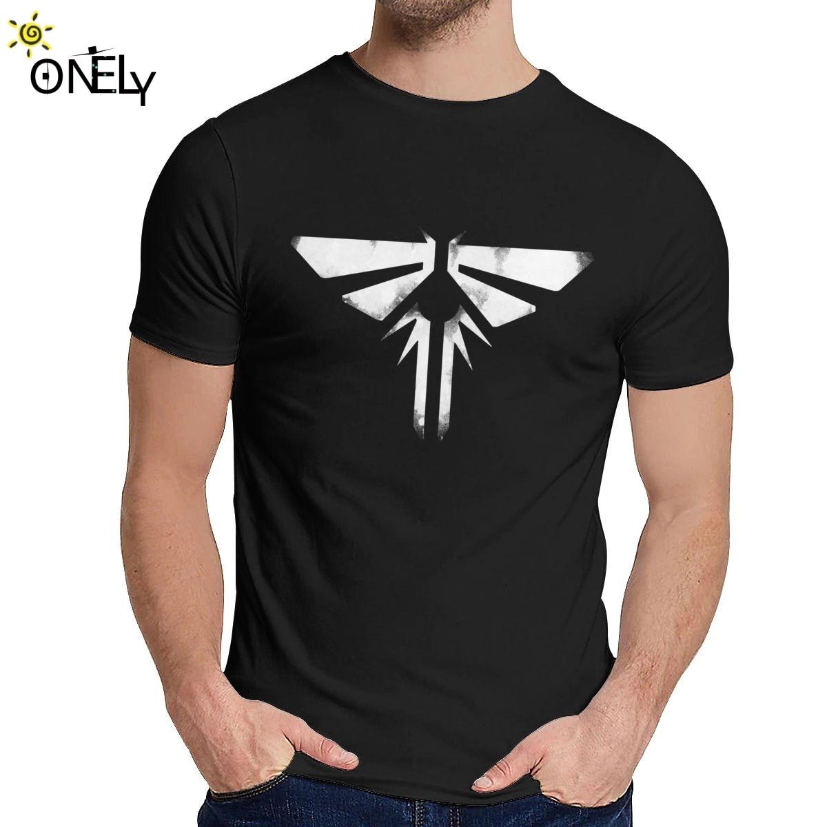 Camiseta de manga corta con Logo de Fireflies, cuello redondo, estampado gráfico,...