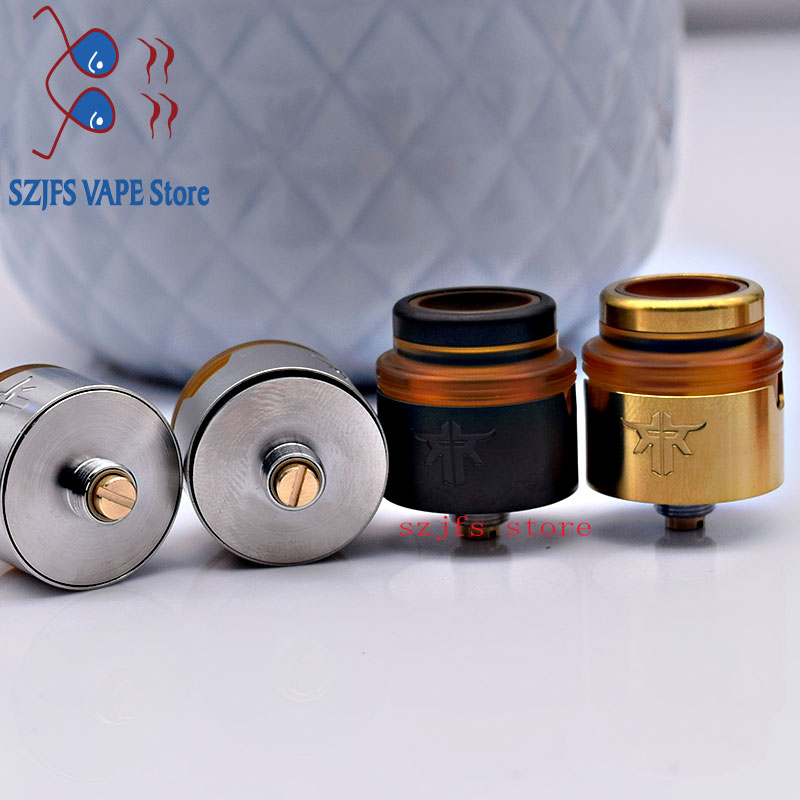 Requiem RDA Atomizer 22mm with Squonk BF PIN 3 Air hoods DL RDL MTL Drip Tip Accessories Single Coil Deck Rebuildable Tank haku enlarge