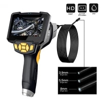 5 5mm 8mm handheld industrial endoscope camera 1080p 4 3 inch hd display borescope for car repair pipeline inspection