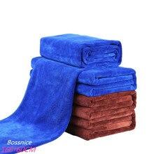 Высококачественные полотенца из микрофибры большого размера, полотенце для сушки и мытья автомобиля, полировальное полотенце, полотенце для ухода за автомобилем, полотенце для чистки автомобиля