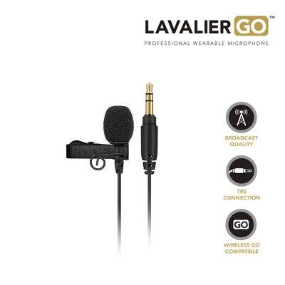 Rode Lavalier Go-ميكروفون بندقية مع ميكروفون ، للمقابلة ، التسجيل الصوتي ، لـ Lavalier Wireless ، go ، Canon ، Nikon ، SONY ، DSLR ، DV