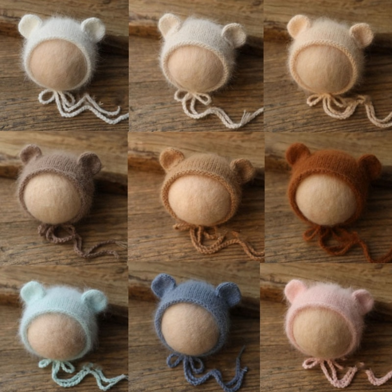 newborn baby photography Newborn Wool Hat Newborn Photography Props Knit Baby Girl Boy Hat Baby Baby Photography Props Aceessries