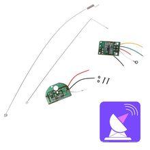 Module Radio télécommande 2 canaux 27MHZ, émetteur panneau récepteur antenne