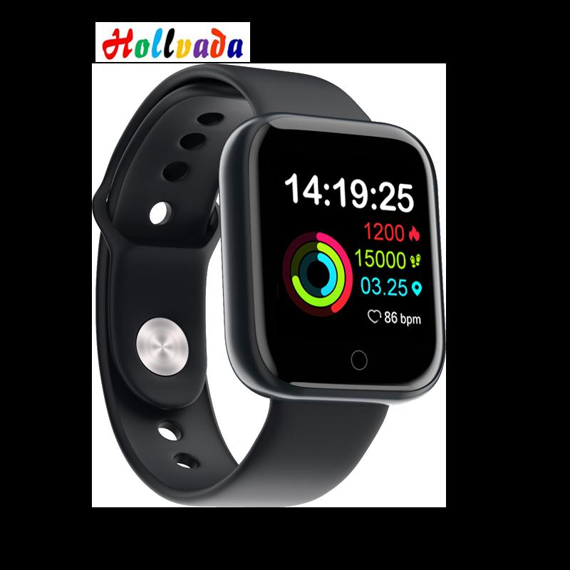 Hollvada esportes relógio gm20 à prova dwaterproof água bluetooth relógio inteligente para samsung huawei xiaomi apple chamada lembrete smartwatch pk b57 b58
