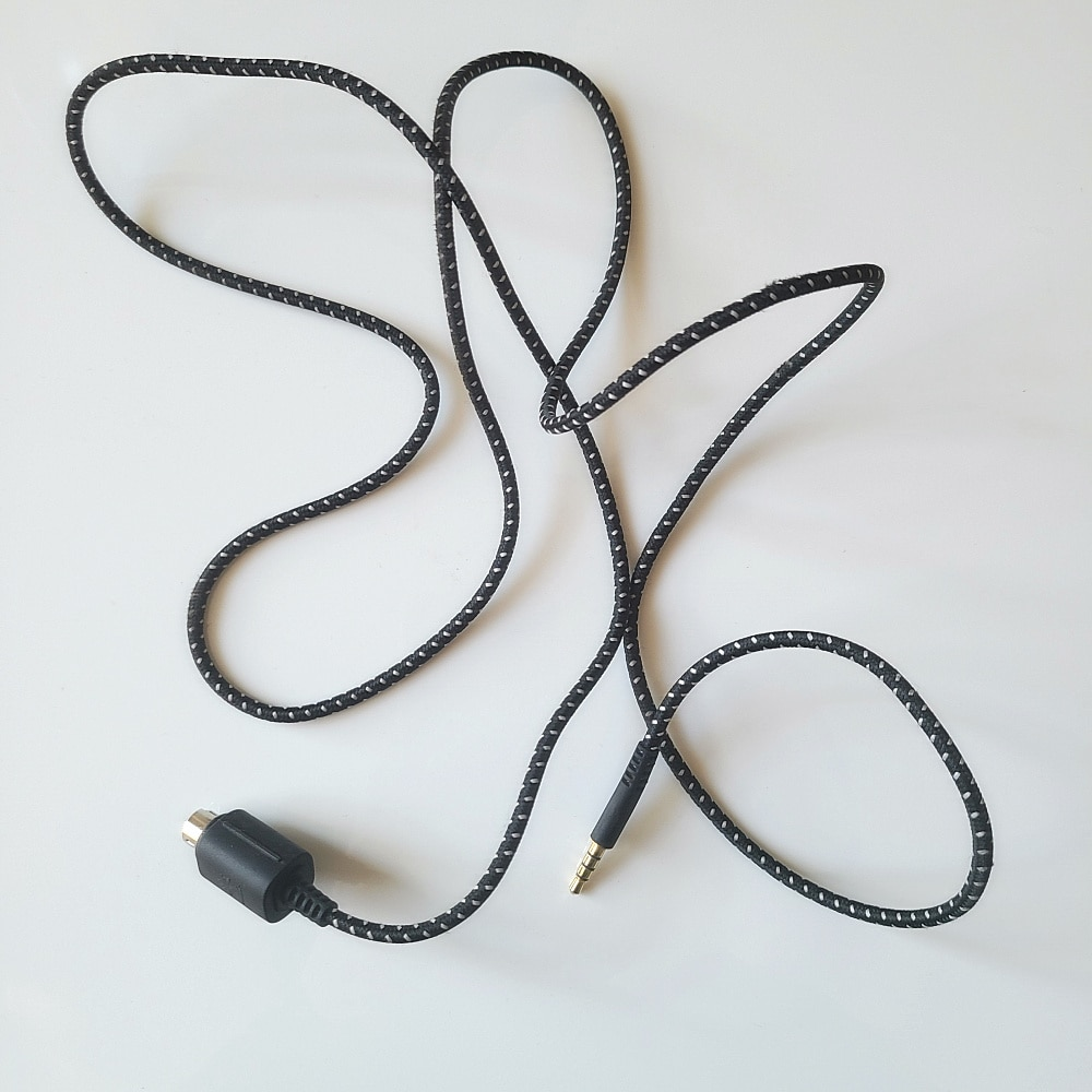 Adaptador de cable de Audio de nailon para auriculares de videojuegos, para...