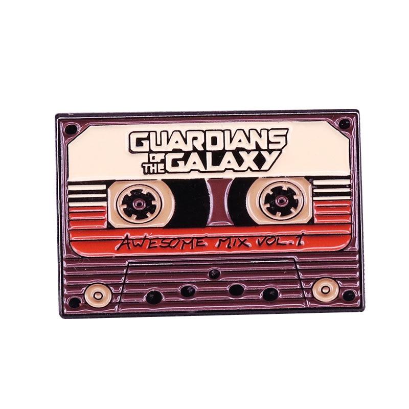 Impresionante mixtape vol 1 pin de esmalte suave