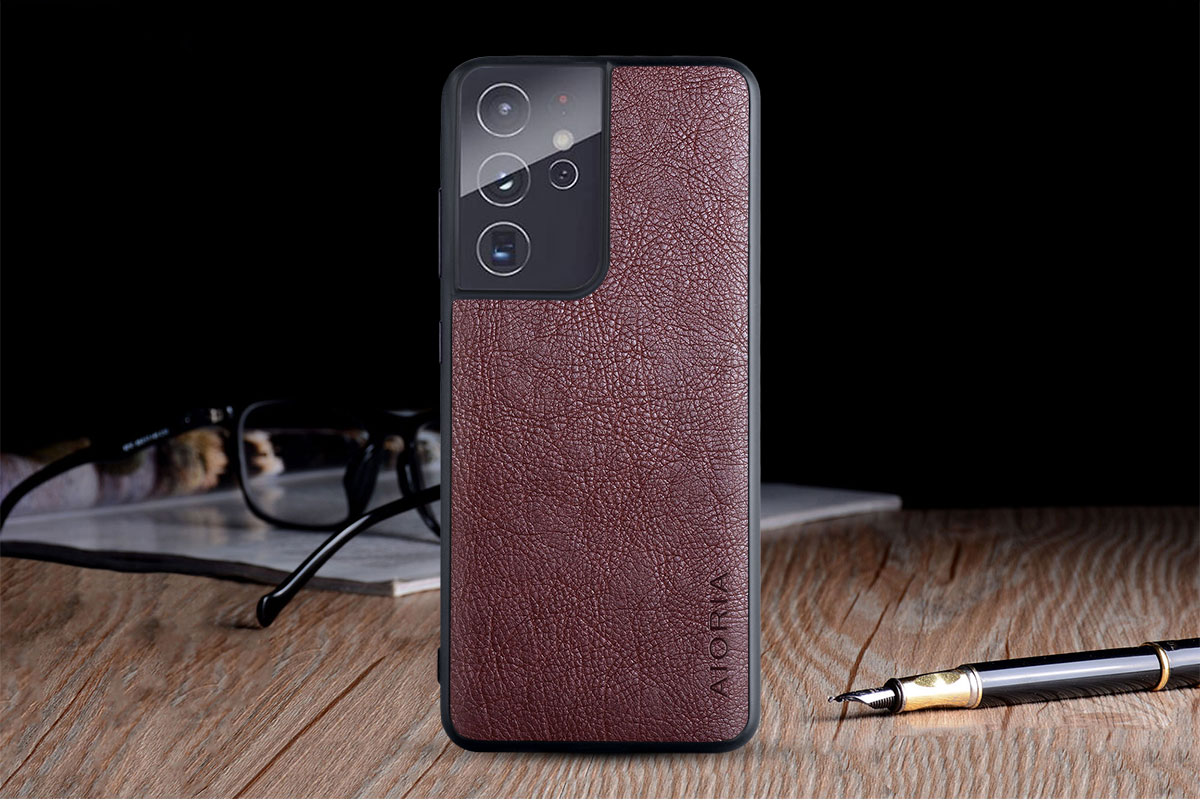 Galaxy S21 Ultra Leather Case 9