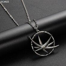 Chasse sauvage Netflix médaillon collier loup pendentif Zireael Yennefer collier Silvr chaîne Triss Geralt de Rivia Cosplay bijoux