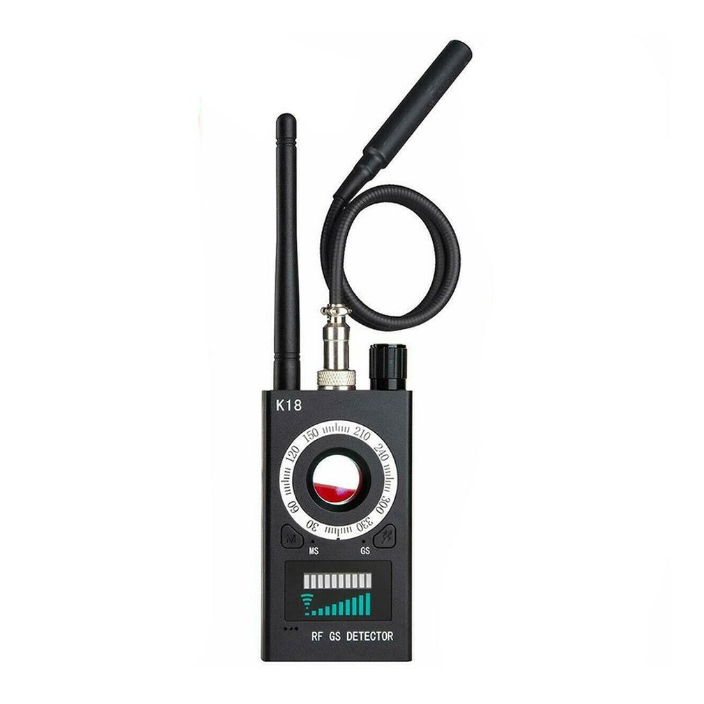cx007 rf gsm device detection multi function rf signal camera phone gsm gps wifi bug detector finder with alarm person security RF Signal detector Anti-spy Detector Camera GPS Signal Lens RF Tracker GSM Audio Bug Finder GPS Scan