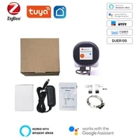 Vanne intelligente Wifi Tuya Zigbee  controle domotique  fonctionne avec Alexa et Google Assistant