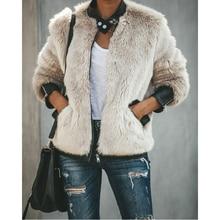 2020 New XS-XL Women Warm Teddy Bear Pocket Fleece Jackets Outwear Coat Street Tops Jacket Zipper Outwear Ladies Coats